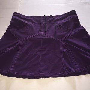 Athleta purple skirt. 4
